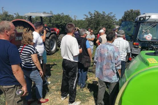 Kertészeti gépbemutató és bodza szakmai nap - 2017