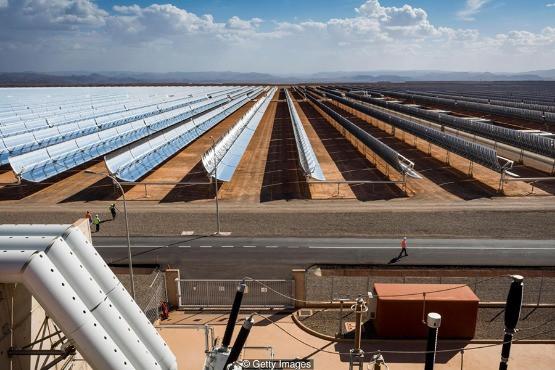 Marokkó napenergiával növeli az öntözött földterületet