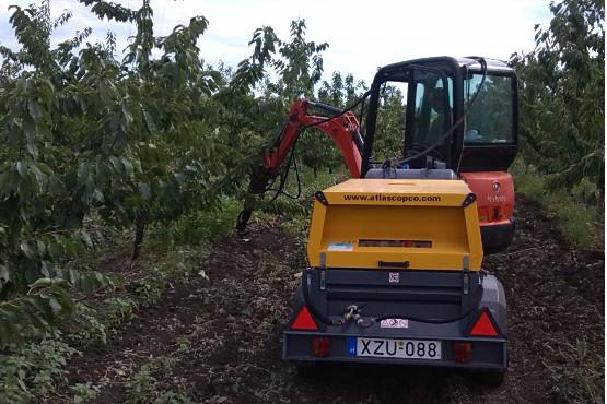Az ültetvények talajlevegőztetése, mint szolgáltatás