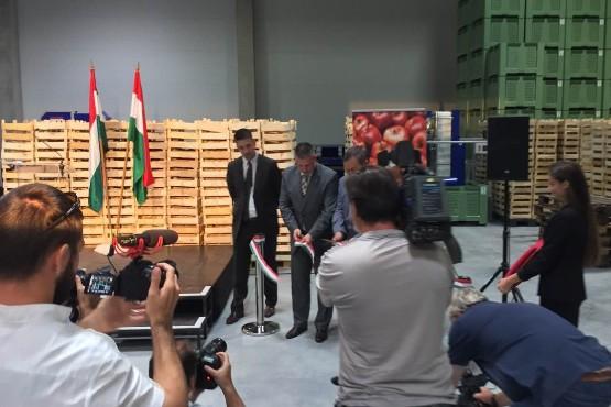 Átadásra került az új Hűtőház Iváncsán
